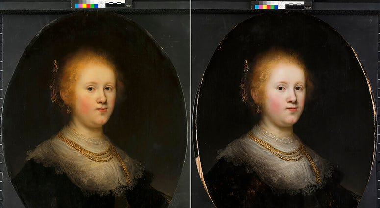 Rembrandt painting