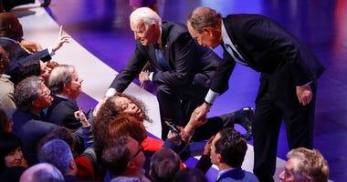 Biden and Bloomberg