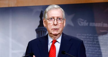 Senate Majority Leader Mitch McConnell of Ky
