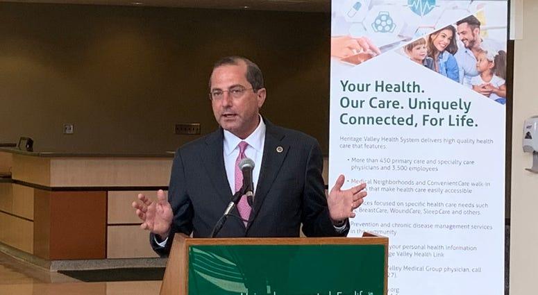 Health and Human Services Secretary Alex Azar