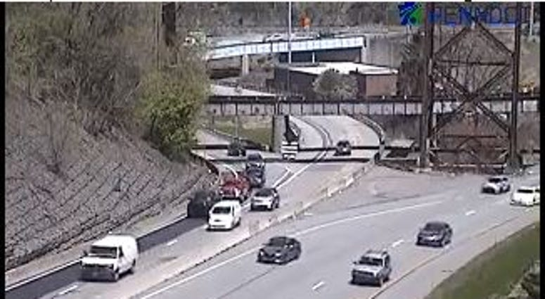 Route 51/19 Ramp To Outbound Parkway West