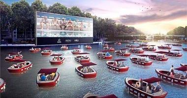 Beyond Cinema Floating movie