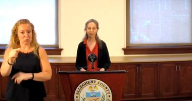 Allegheny County Health Department Director Dr. Debra Bogen