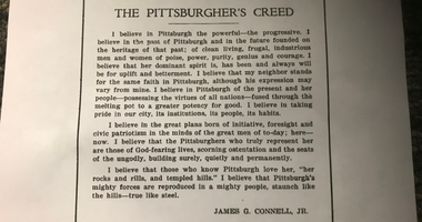 Pittsburgher's Creed