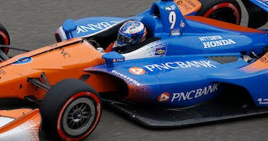 Scott Dixon's No. 9 PNC Bank Chip Ganassi Racing Honda IndyCar
