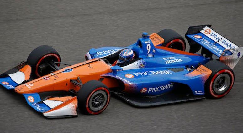 Scott Dixon's No. 9 PNC Bank Chip Ganassi Racing Honda IndyCar