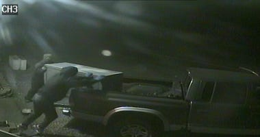 surveillance image of two suspects in Beaver County robbery