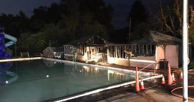 Fire in Elizabeth Township