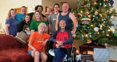 Family Celebrates 'Christmas In July' for Father Battling Cancer