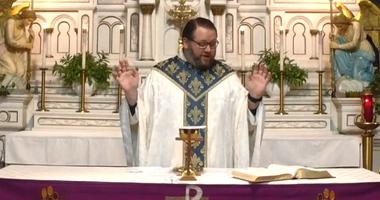 Father Nick Vaskov holding services online