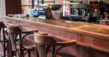 Chairs and bar counters In restaurants and beverages
