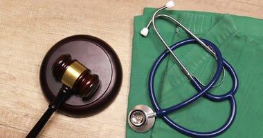 Medical law concept,Medical law