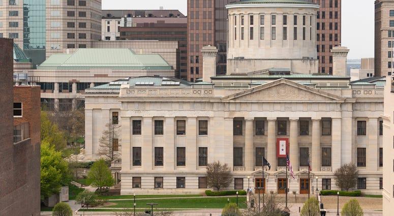 Capitol Building in Ohio