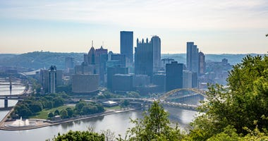 hot summer day in Pittsburgh