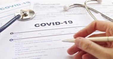 COVID-19 Health insurance concept