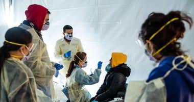 Doctors Test for Coronavirus
