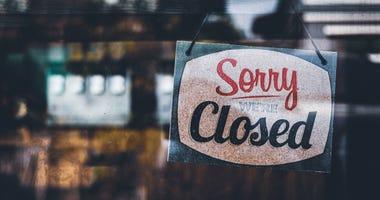 Restaurant Closed due to coronavirus