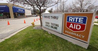 Rite Aid coronavirus testing site