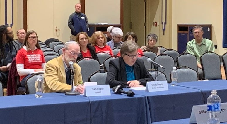 A special state committee appointed by Governmor Tom Wolf heard from victims, police, social scientists, and counselors on how to stop mass shootings from happening and how to deal with their aftermath if they do happen.
