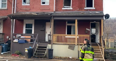 Fire at a home in Hazelwood on January 6, 2020