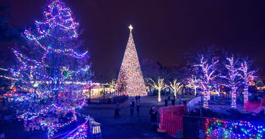 Kennywood Christmas Lights