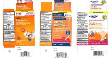 Recalled Children's Ibuprofen