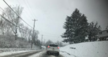 Snow on Pittsburgh Roads