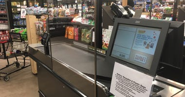 Plexiglass installed at Giant Eagle during coronavirus outbreak