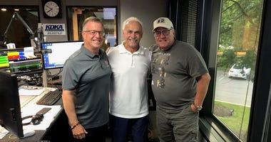 Larry Richert, Rocky Bleier, John Shumway