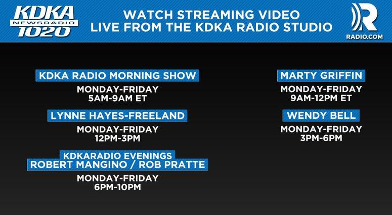 KDKA Radio Live Video