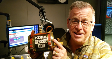 Larry KDKA Radio Rescue Dog