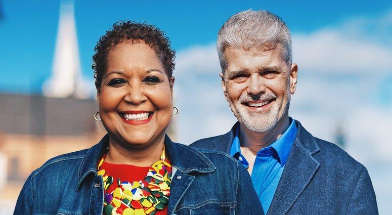 Lynne Hayes-Freeland and Robert Mangino