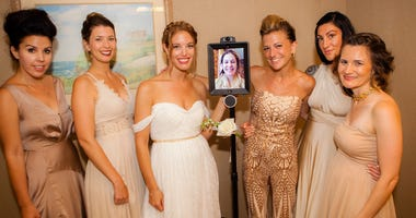 Maid Of Honor Refuses To Miss Sister's Wedding, 'Walks' Down Aisle with iPad on Wheels