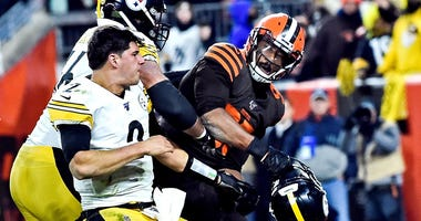 The prosecutor's office ihey won't open an the city of Cleveland says tn investigation into Thursday night's brawl at the end of the Steelers-Browns game unless someone files a criminal complaint. No one has.