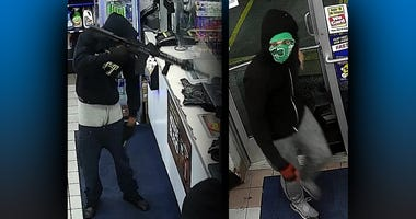 Mt. Oliver Sunoco Robbery Suspects