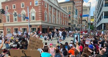 George Floyd Protest Thursday June 4