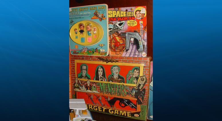 Vintage toys/games