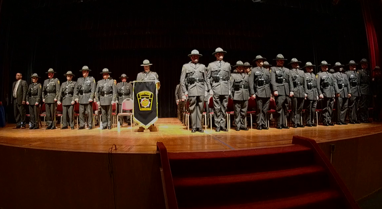 Pennsylvania State Police's newest class of troopers