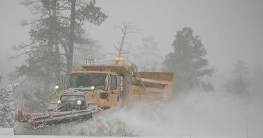 A snow plow