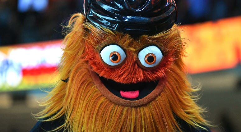 Gritty, Flyers Mascot