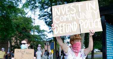 Monday's defund the police demonstration in Beacon on June 8, 2020. Defund The Police Demonstration