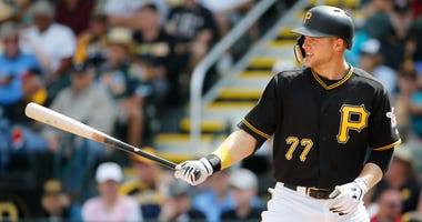 Austin Meadows of the Pittsburgh Pirates