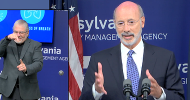 Governor Tom Wolf During a news conference on June 5, 2020