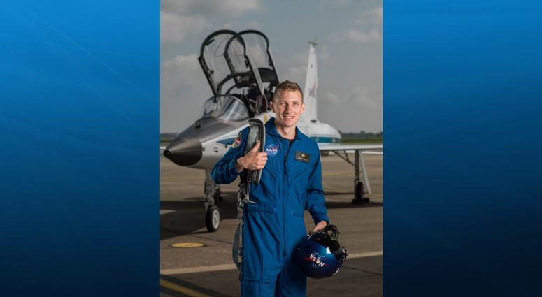 NASA Astronaut Woody Hoburg