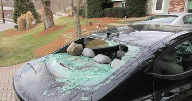 Car vandalized in South Park