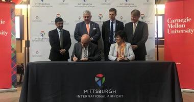 Pittsburgh International and CMU partner in aviation innovation laboratory.
