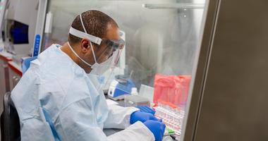 Coronavirus testing at PA's State Lab