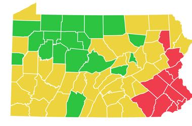 coronavirus map for May 29
