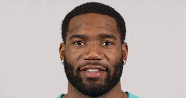 Xavien Howard of the Miami Dolphins NFL football team
