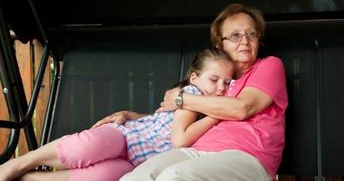 Grandparent caring for child